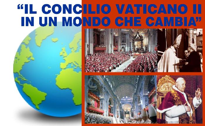 Il Concilio Vaticano II in un mondo che cambia